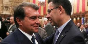 لابورتا يعد أعضاء برشلونة بمحاكمة بارتوميو