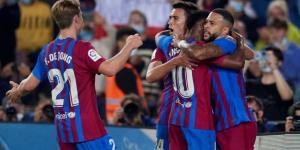 أجويرو وفاتي وديباي وكوتينيو في قائمة برشلونة أمام ريال مدريد