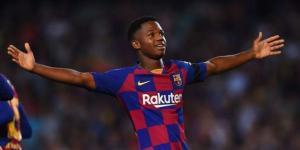 أنسو فاتي يزيد من أوجاع برشلونة بعد الخسارة من ريال مدريد