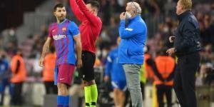 أجويرو يُوجه رسالة لجمهور برشلونة بعد الخسارة أمام ريال مدريد