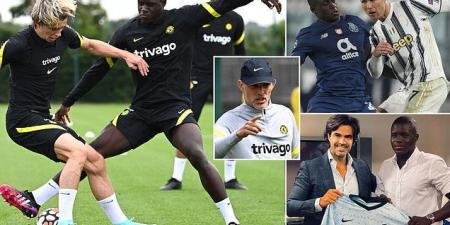 Malang Sarr admits he was 'surprised' when Chelsea wanted to sign him last year but is determined to make his mark this season back at Stamford Bridge after Porto loan spell