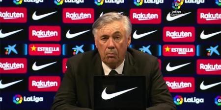 أنشيلوتي عن الفوز بـ الكلاسيكو: لاعب ريال مدريد كان خطيرًا للغاية.. ولن أقيم برشلونة