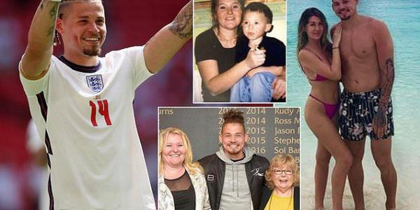 The making of Kalvin Phillips, England's latest football hero: His Irish mum had to sleep on the family sofa, he has had the same girlfriend since he was 11 and his Jamaican dad is in prison as he takes Euro 2020 by storm